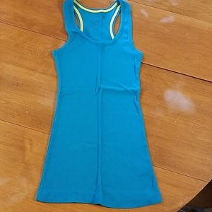 5/$20 Blue racerback tank top
